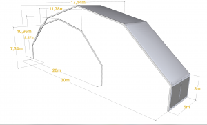 carpa poligonal 300x181 - Polygonal structures
